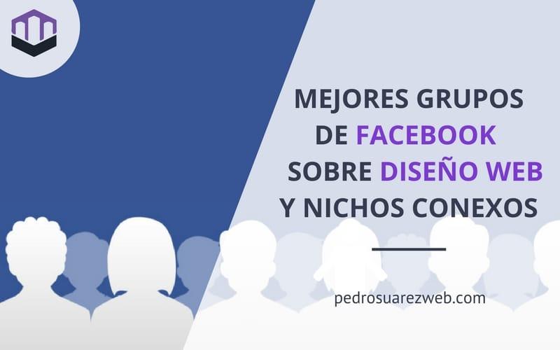 Grupos de Facebook Diseño Web