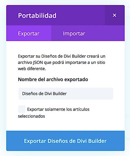 Exportar Importar Diseños