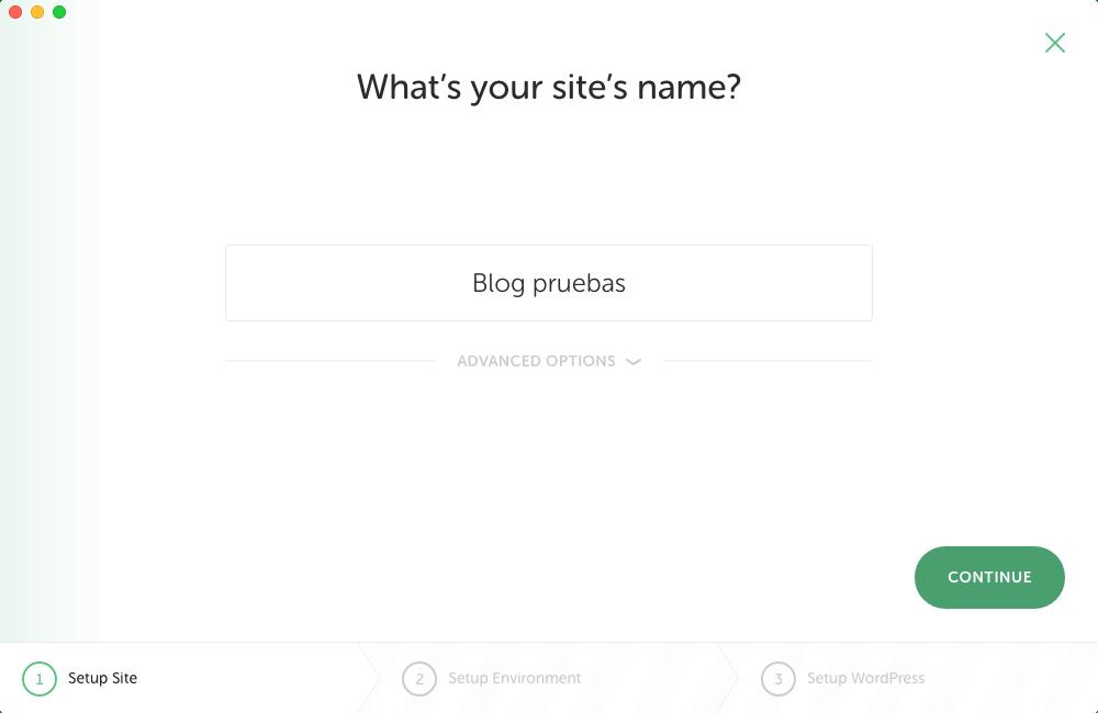 Nombre del sitio