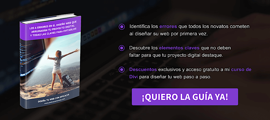 Qué son las landing pages: ejemplo Call To Action